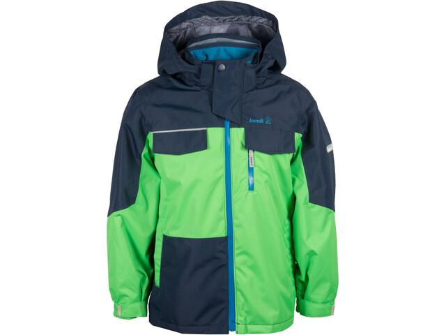 Kamik Wyn Shell Jacket Kinder classic green